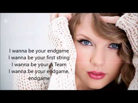 Taylor Swift- End Game (Lyric Video)