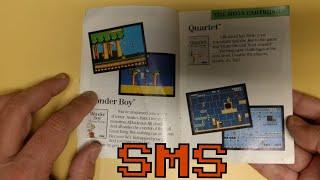 Sega Master System Game Catalog Spring/Summer 1987 - RIGGS