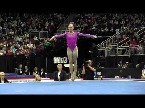Maggie Nichols (USA) - Floor Exercise - 2016 AT&T American Cup