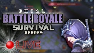 RANKING UP & TRIAL CARD | SURVIVAL HEROES - MOBA BATTLE ROYALE