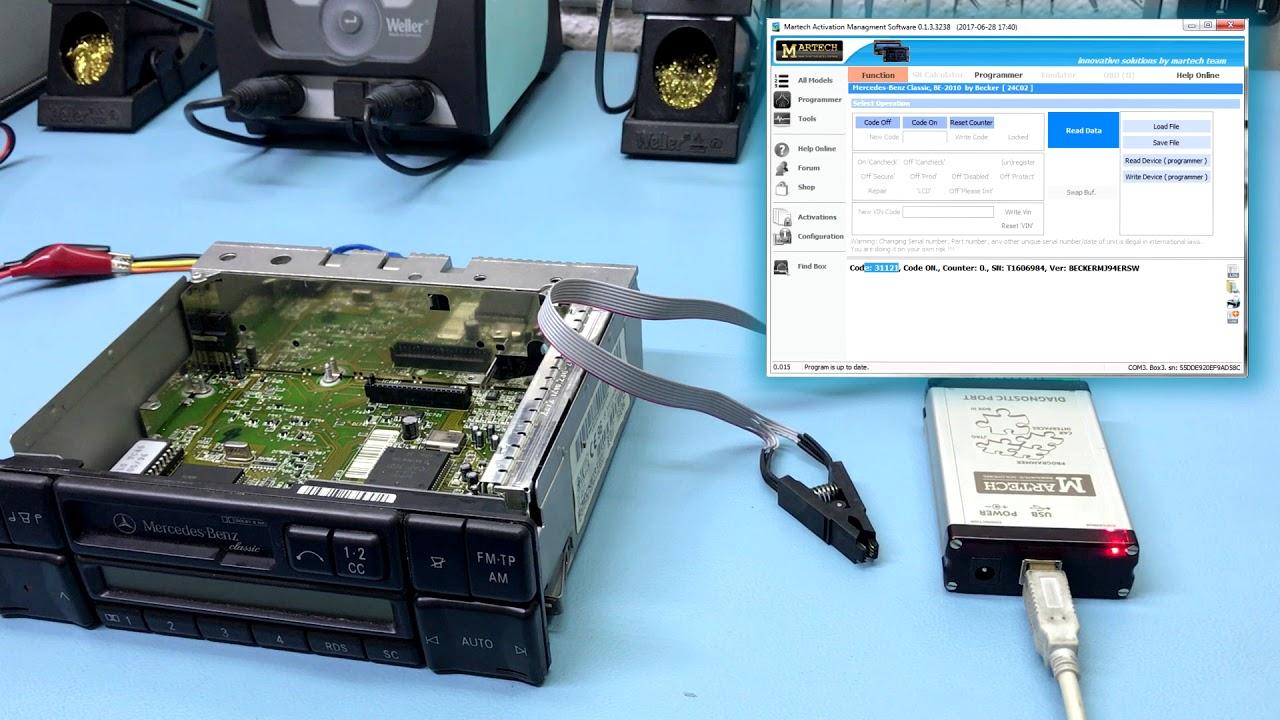 Mercedes Radio Code Generator