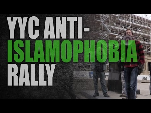 "Calgary: ""Anti-fascists"" hijack anti-Islamophobia rally"