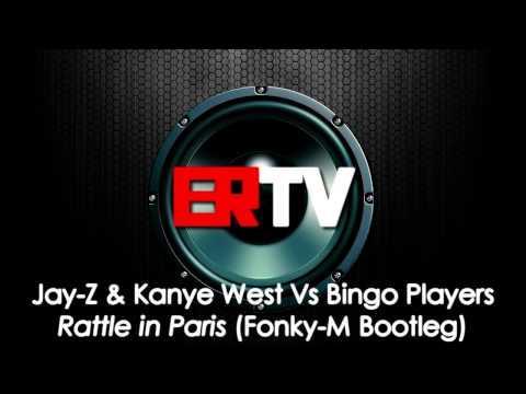 [HQ] Jay-Z & Kanye West Vs Bingo Players - Rattle In Paris [Fonky-M Remix]