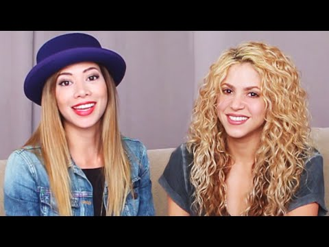 Reacting with Shakira to Her Old Videos! - YouTube