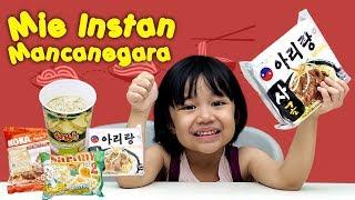 KATA BOCAH tentang Makanan Mie Instan Mancanegara   #60