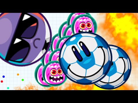 Agar.io Let's Trick Split And Take Over All Server Agario Live Stream