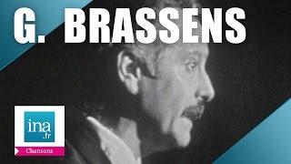 "Georges Brassens ""La marche nuptiale"" (live) - archive vidéo INA"