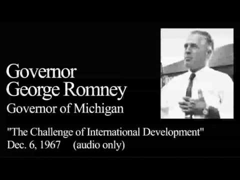 Landon Lecture | George Romney - audio only