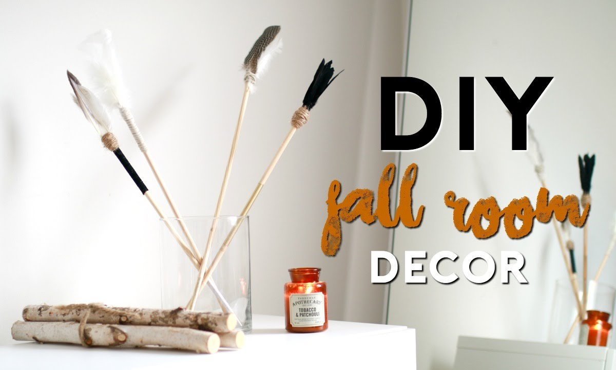 diy fall room decor 2016 easy tumblr youtube. Black Bedroom Furniture Sets. Home Design Ideas