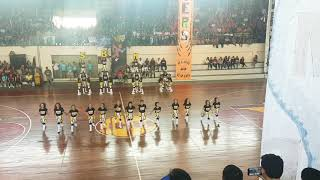 SBME BLAZING DRAGONS- 2nd Runner-up HCDC Intramurals Cheerdance Competition 2018
