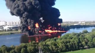 Крупный пожар в Марьино 2