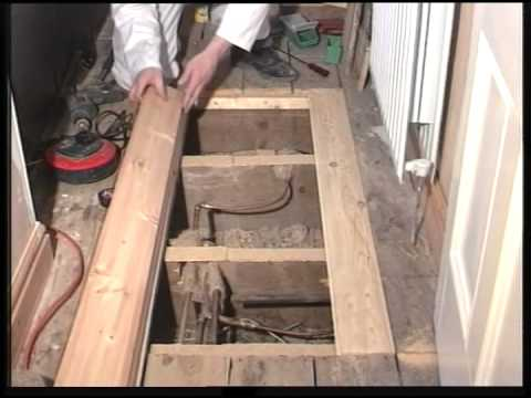 How to fit New Floorboards  YouTube