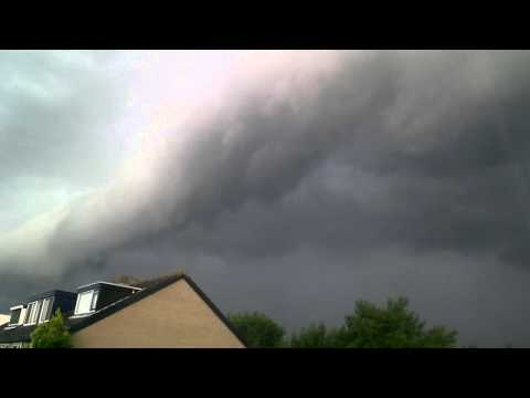 Extreme weather Netherlands August 2014