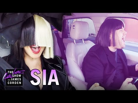 Sia talks alcoholism and drug addiction on Carpool Karaoke