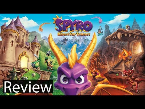 Spyro Reignited Trilogy Xbox One X Gameplay Review