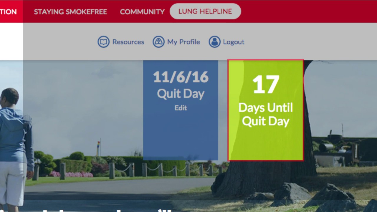 Join Freedom From Smoking | American Lung Association