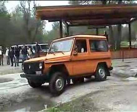Mercedes-Benz G Gelandewagen at the Unimog Testtrack