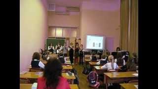 фрагмент урока музыки в 5 классе (учитель Ковалёва М.И.