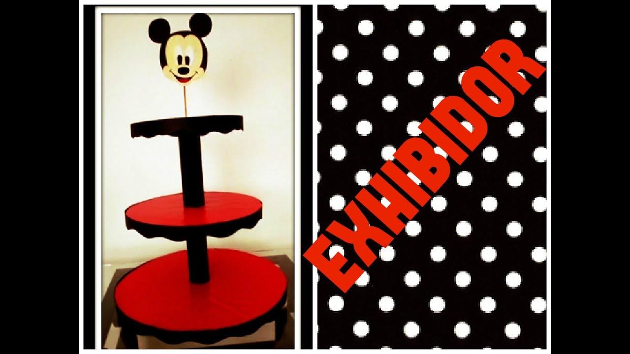 Diy Exhibidor De Carton Para Cupcakes O Gelatinas De