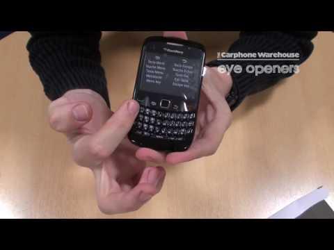 BlackBerry 8520 Curve Unboxing