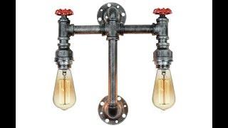 Обзор светильников Lussole Loft 9 LSP-9692 и LSP-9192 от ВамСвет.Ру