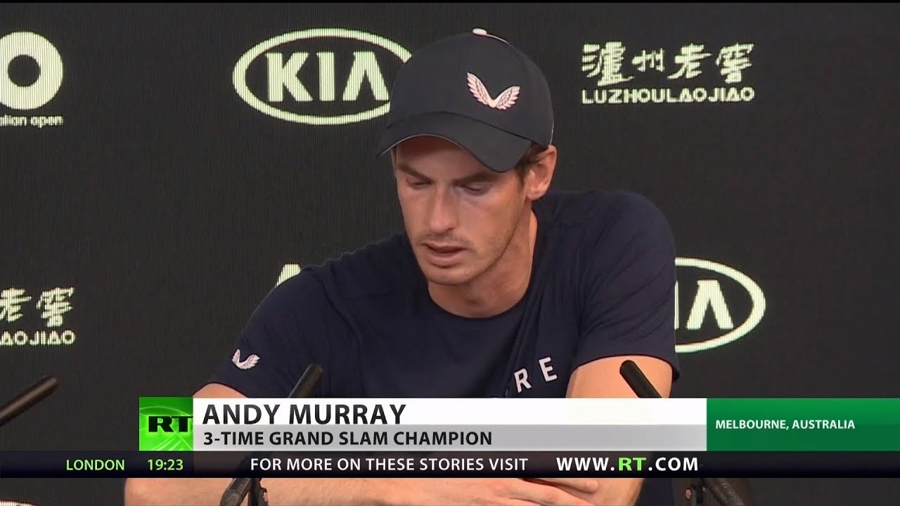 Andy Murray Tearfully Announces Impending Retirement