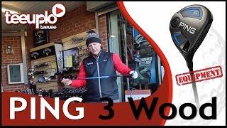 Ping G 3 wood Reg and ST Tec