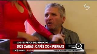 Las diferencias entre los cafés con piernas en el centro de Santiago - CHV Noticias