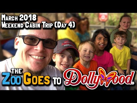 March 2018 Weekend Cabin Trip (Day 4): The Zoo Goes to Dollywood (March 17, 2018)