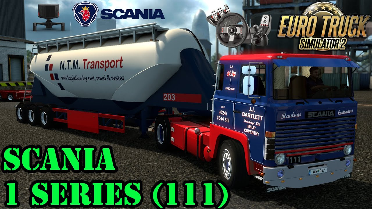 ETS2 - Scania 1 Series (111 & 141) - YouTube