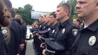 Патрульная полиция начала работу в Мариуполе