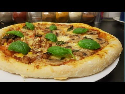 صورة  طريقة عمل البيتزا طريقة عمل بيتزا ناااااااجحة 100في 100 طريقة عمل البيتزا من يوتيوب