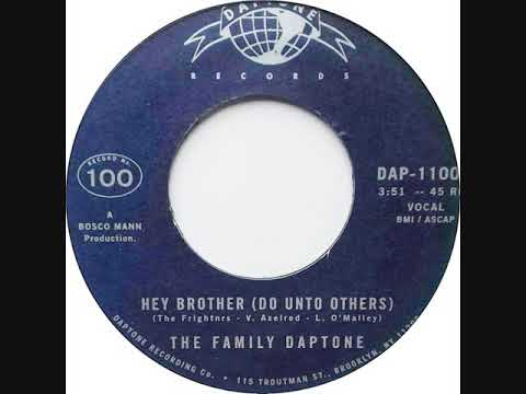 The Family Daptone - Hey Brother ( Do Unto Others )