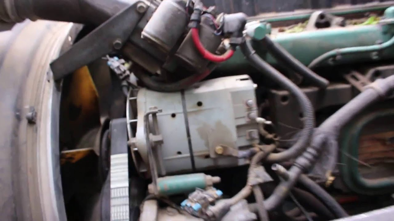 medium resolution of old start cold start volvo d12 semi year 2000 with bloopers