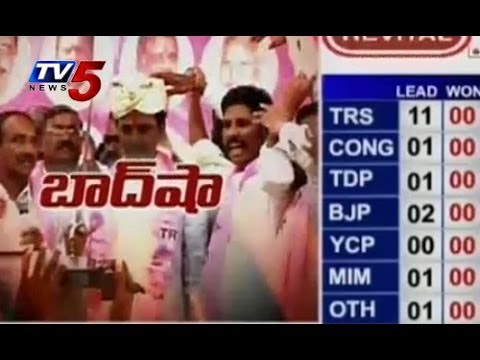 Election Results 2014 : TRS Leads In Mahbubnagar