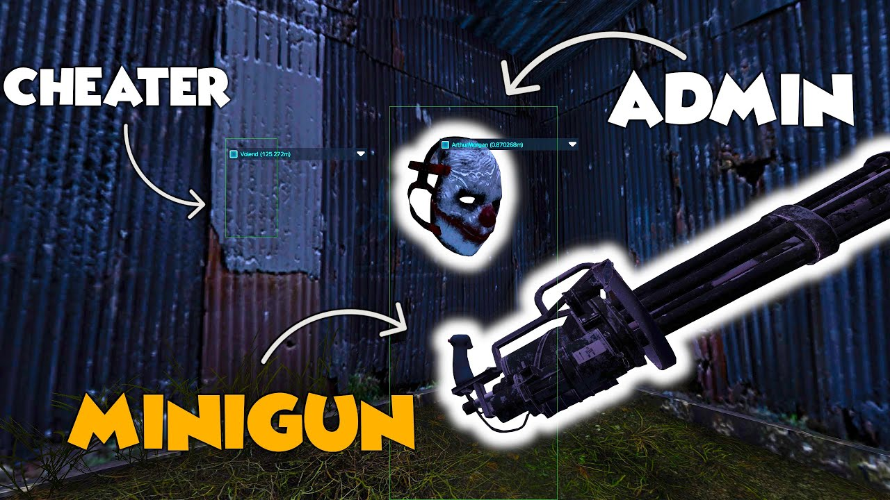 DayZ Admin DESTROYS Cheaters With His BIG Mini-Gun! Ep22