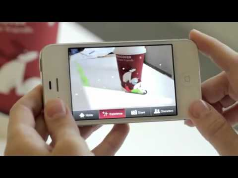 Starbucks Holiday Cups Come to Life With Augmented Reality App.flv
