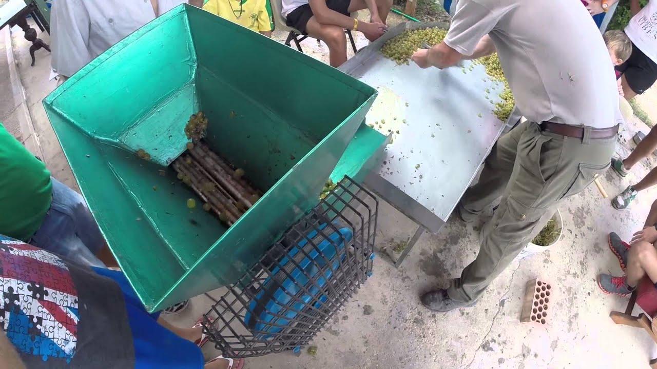 Trituradora y prensa casera para la obtenci n de vino - Trituradora de ramas casera ...