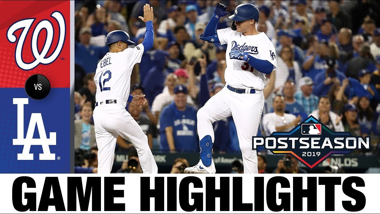 Download Max Muncy, Walker Buehler lead Dodgers to Game 1 win | Nationals-Dodgers NLDS Game Highlights