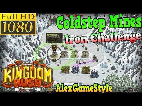 Kingdom Rush HD - Coldstep Mines Iron Challenge (Level 7)