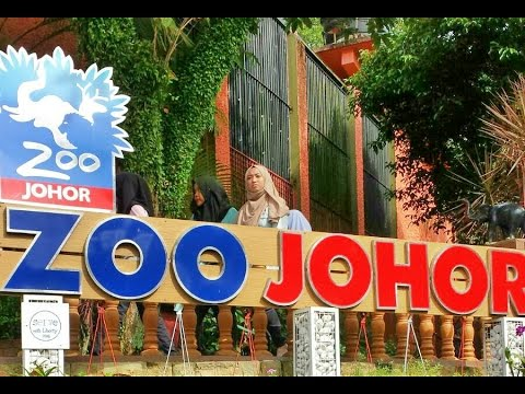 Johor Zoo - Malaysia for tourism, best attractive location in city. near Singapore