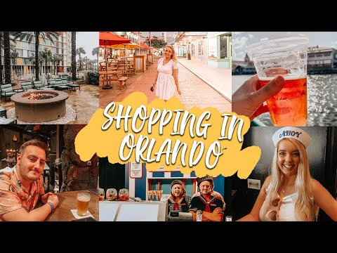 PREMIUM OUTLETS AND OLD TOWN | ORLANDO VLOGS