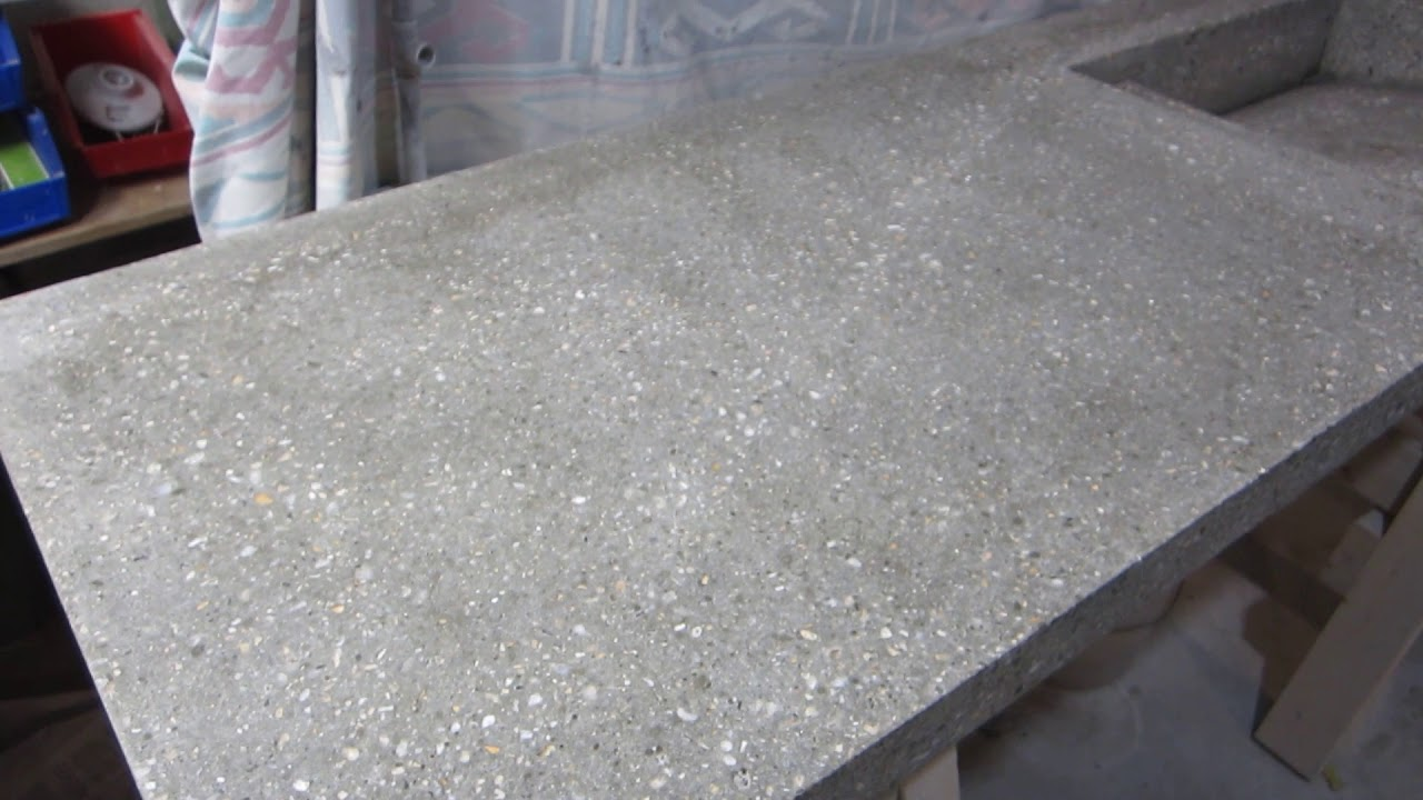 Sealing Concrete Countertop With Ghostshield 770