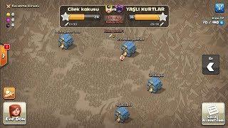 2 Türk Klanı Çarpışması Canlı Klan Savaşları Clash of clans
