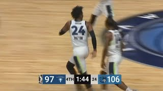 Justin Patton (19 points) Highlights vs. Texas Legends