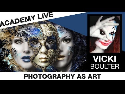 ACADEMY LIVE | Vicki Boulter - Photography as Art