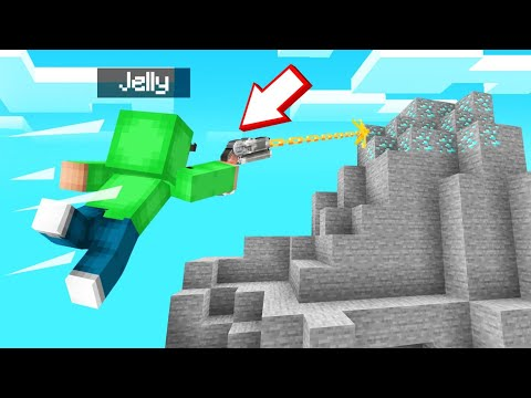 I FOUND A GRAPPLING HOOK In MINECRAFT! (Insane)