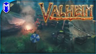 Building Our New Boat And Exploring Some New Areas - Valheim Early Access Gameplay Ep 2