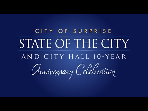 2019 City of Surprise State of the City Address video thumbnail