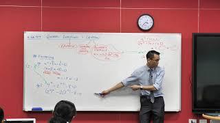 Quadratic Factorisation (2 of 3: Translating to a quadratic equation)